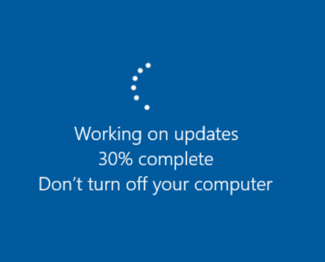 Working-on-updates-Windows-10-Pro-for-Workstations-upgrade Installing Windows 10 Pro for Workstations