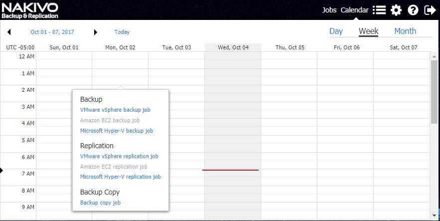 Calendar-Dashboard-of-NAKIVO-Backup-Replication