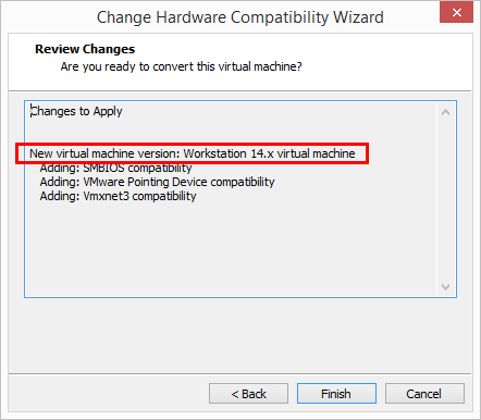 Confirm-Hardware-Compatiblity-changes-to-apply Change Boot Drive to NVMe Storage Controller in VMware Workstation 14