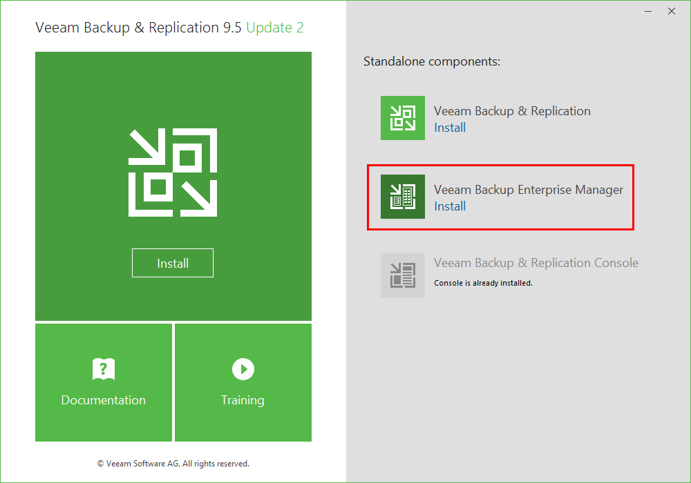Kicking-off-the-install-for-Veeam-Backup-Enterprise-Manager-1 Monitor Veeam Backups with Veeam Backup Enterprise Manager