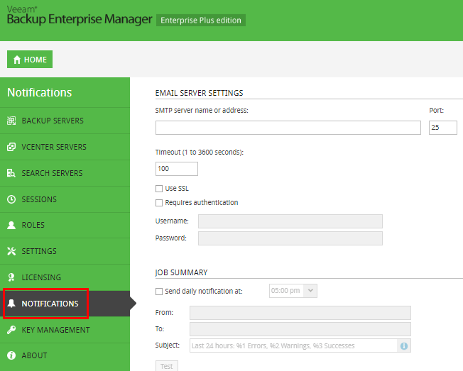 Setup-Veeam-Backup-Enterprise-Manager-notifications Monitor Veeam Backups with Veeam Backup Enterprise Manager