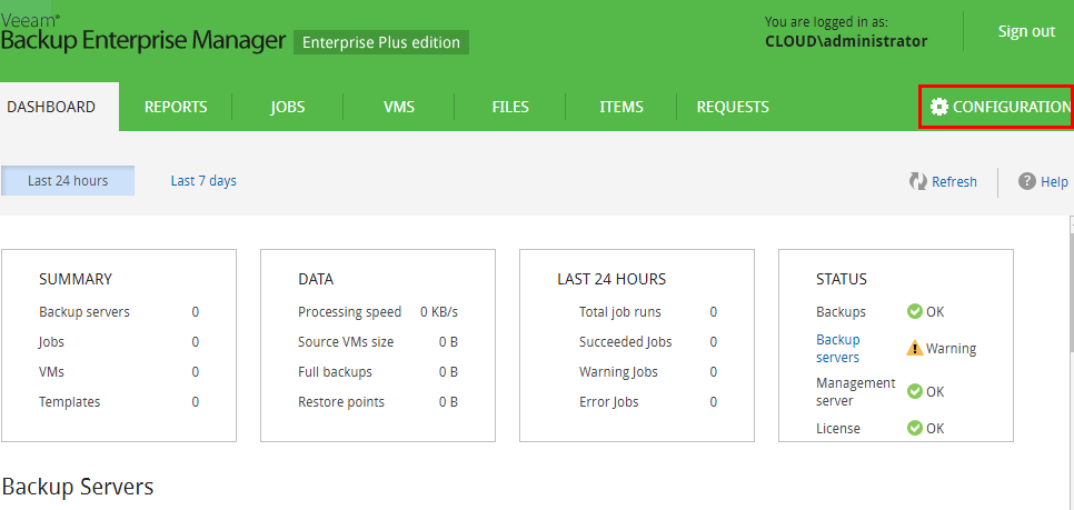 Veeam-Backup-Enterprise-Manager-configuration Monitor Veeam Backups with Veeam Backup Enterprise Manager