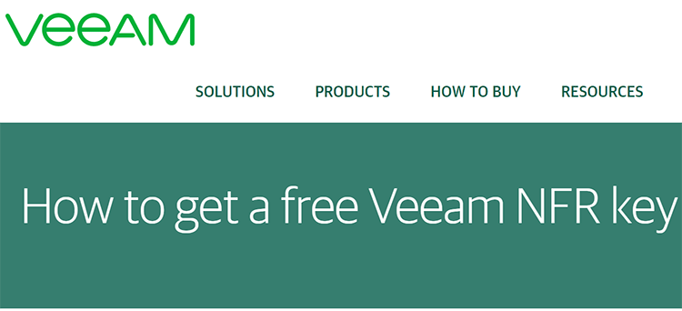 Veeam-offers-free-NFR-keys-to-virtualization-professionals Veeam NFR Licenses for Home Labs