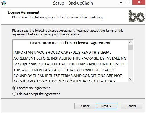 Accept-the-EULA Perform Live Backups of VMware Workstation Virtual Machines