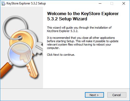 Beginng-the-Keystore-Explorer-installation