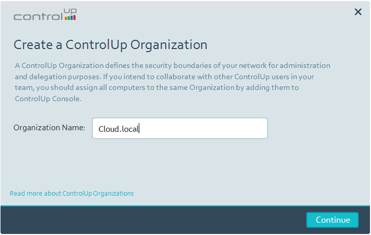Create-a-ControlUp-Organization ControlUp VMware Performance and Health Monitoring