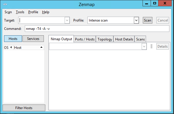 probing using zenmap gui One of zenmap's goals is to make security scanning easy for beginners and for experts chapter 12 zenmap gui users' guide.