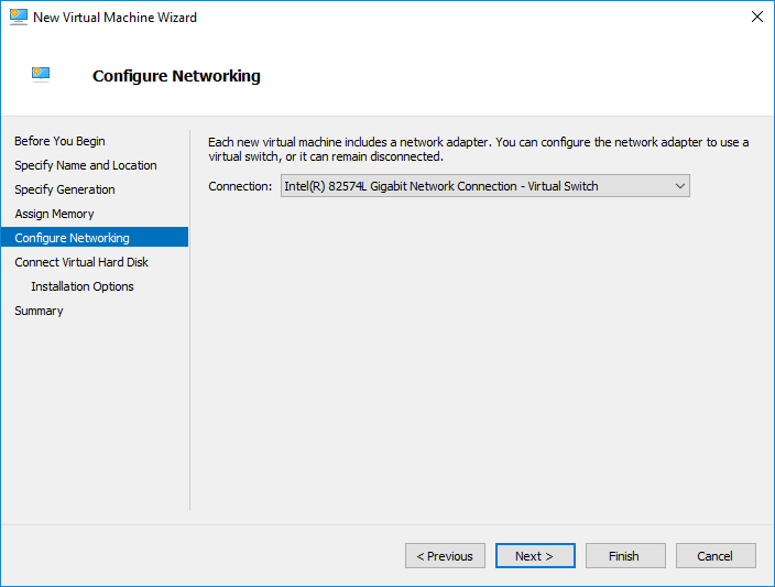 Configure-the-network-for-the-Windows-Server-2019-virtual-machine