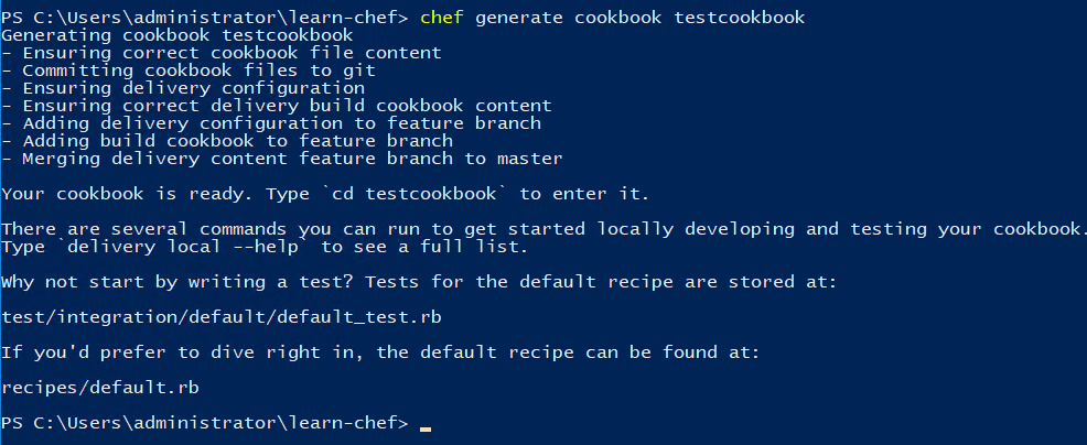 Generating-a-new-Chef-cookbook-for-automating-Windows