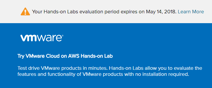 Getting-started-with-VMware-Cloud-on-AWS-Hands-on-Lab What is VMware Cloud on AWS?