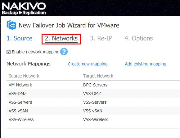 NAKIVO-Backup-Replication-v7.4-configure-network-mapping-for-VM-failover-job