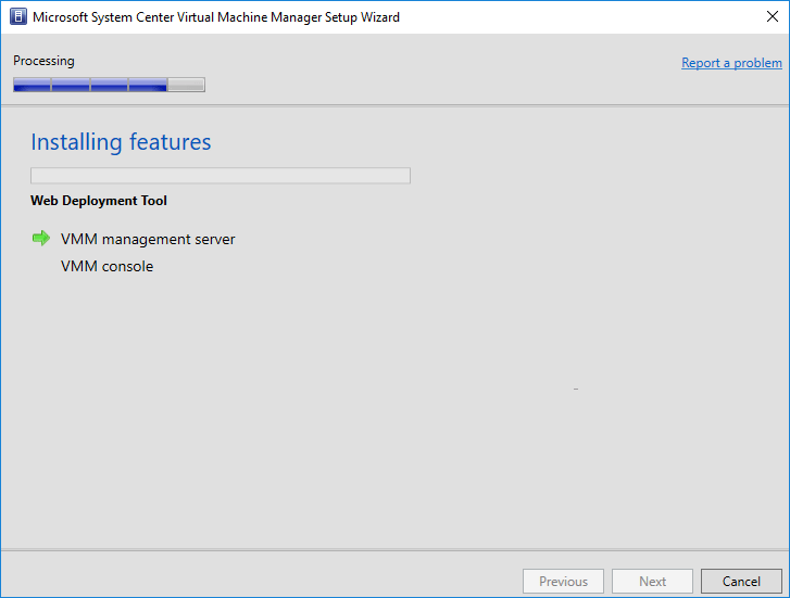 SCVMM-1801-installation-begins System Center Virtual Machine Manager 1801 New Features and Installation