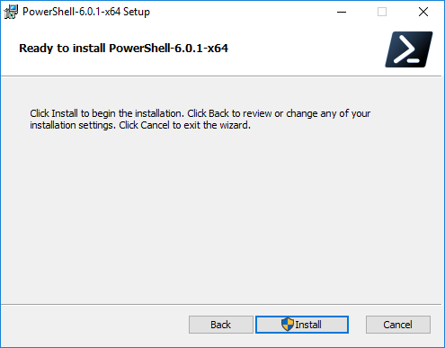 Starting-the-installation-process-of-copying-PowerShell-Core-files Installing PowerShell Core PowerCLI 10.0 in Windows 10