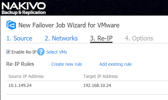 The-new-VM-Failover-Re-IP-rule-is-created