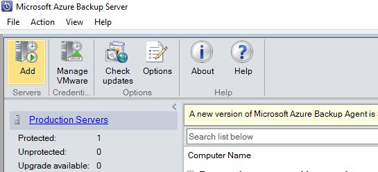 Connect-VMware-vCenter-to-Microsoft-Azure-Backup-Server