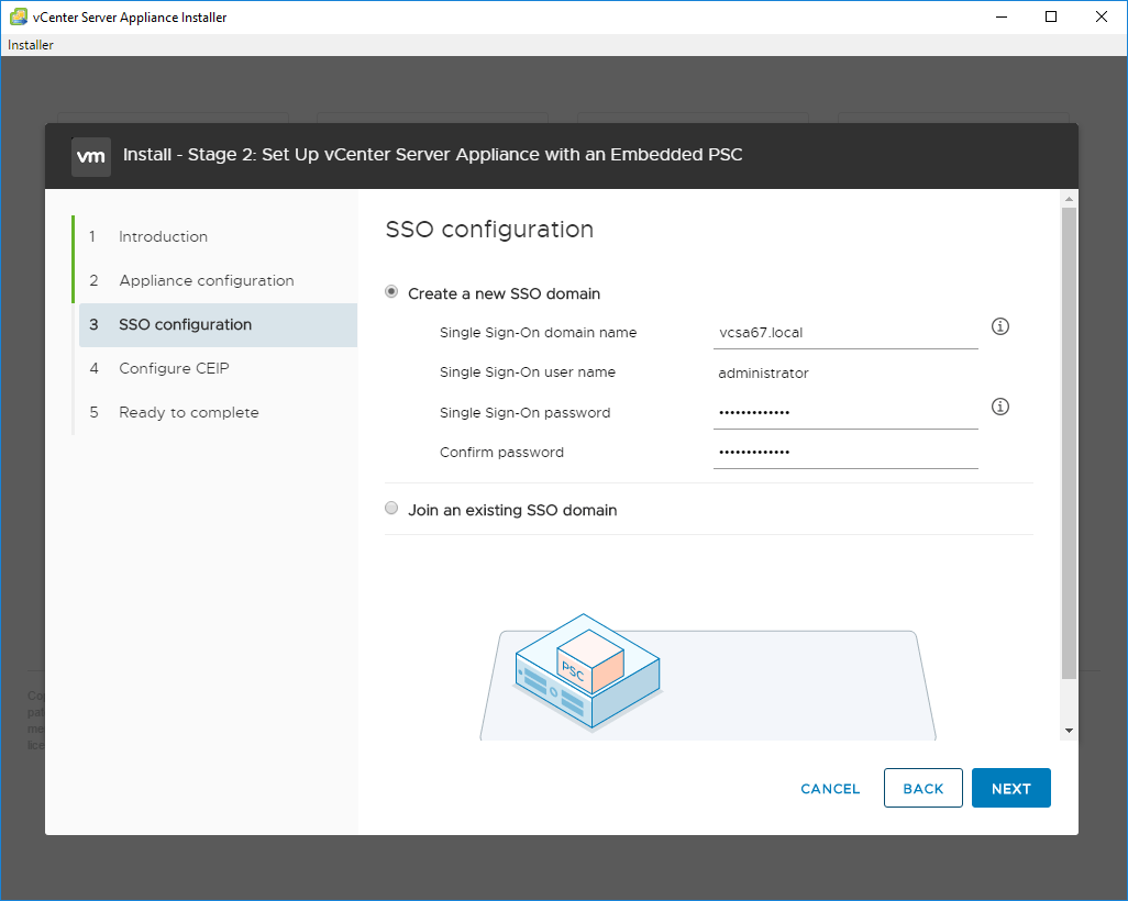 SSO-Configuration-for-the-new-VCSA-6.7-appliance VMware VCSA 6.7 New Features Installation and Configuration