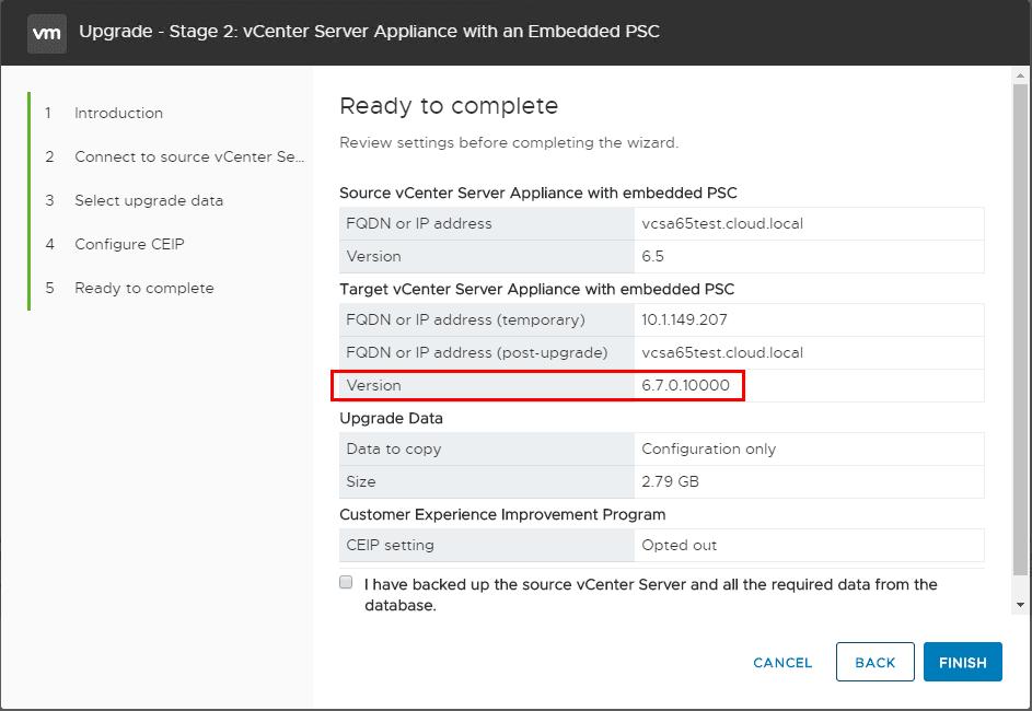Upgrading-VMware-vCenter-Server-to-6.7-to-upgrade-vSAN-cluster