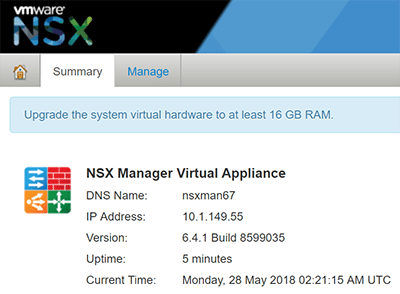 VMware-NSX-Manager-6.4.1 VMware NSX 6.4.1 Released New Features With vSphere 6.7 Support