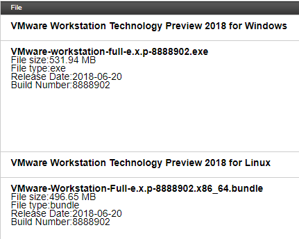 Downloading-VMware-Workstation-Tech-Preview-2018 VMware Workstation Pro Tech Preview 2018 Released with New Features