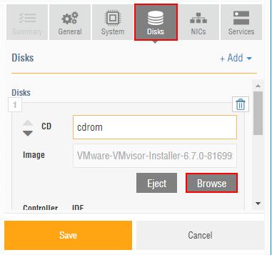 Installing VMware vSphere ESXi 6 7 in Ravello Cloud Service