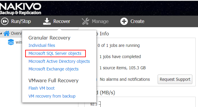 Restoring-Microsoft-SQL-Server-2017-application-objects-with-NAKIVO-Backup-Replication