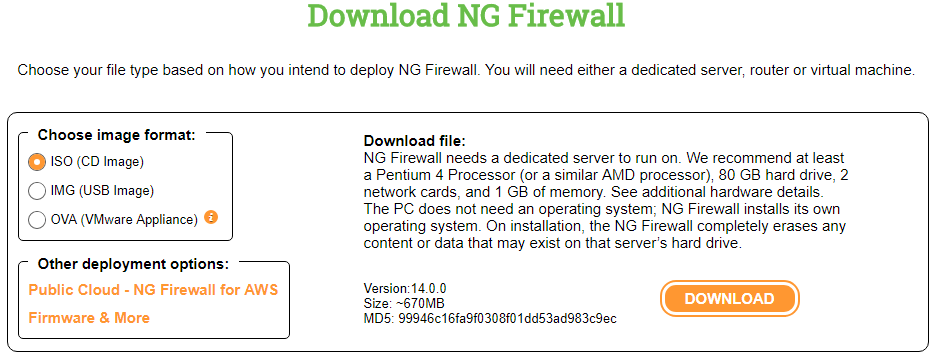 Untangle-NG-Firewall-deployment-options Untangle NG Firewall v14.0 Released with New Features