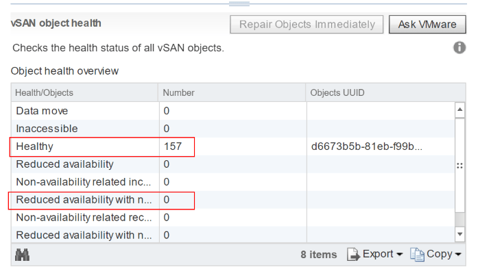 All-vSAN-objects-have-now-been-synchronized-with-the-new-vSAN-Witness-host Replace or Change VMware vSAN Witness Host with vSphere 6.7 Appliance