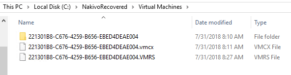 NAKIVO-Recovered-files-for-the-Hyper-V-virtual-machine-using-Flash-VM-Boot