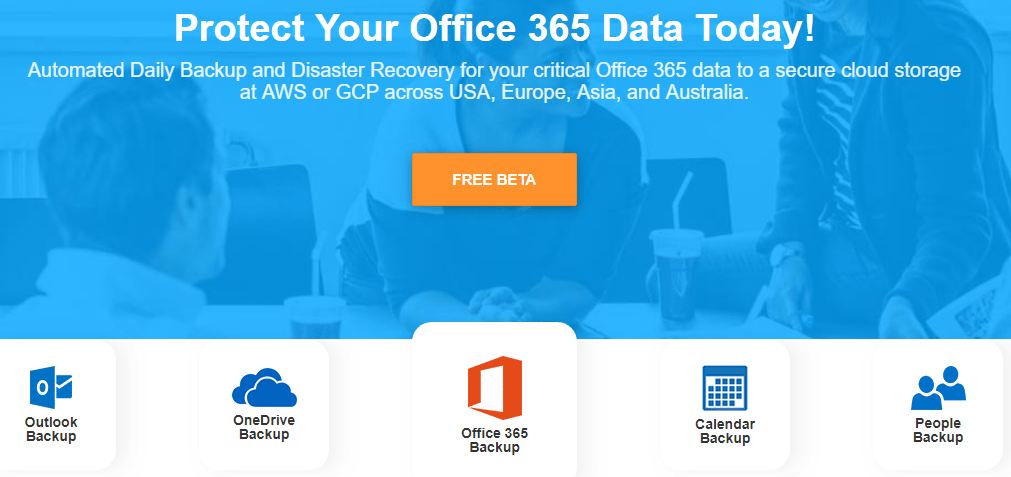 Services-Backed-up-by-Spinbackup-for-Office-365 Spinbackup for Office 365 Beta Released Backup and Disaster Recovery Features