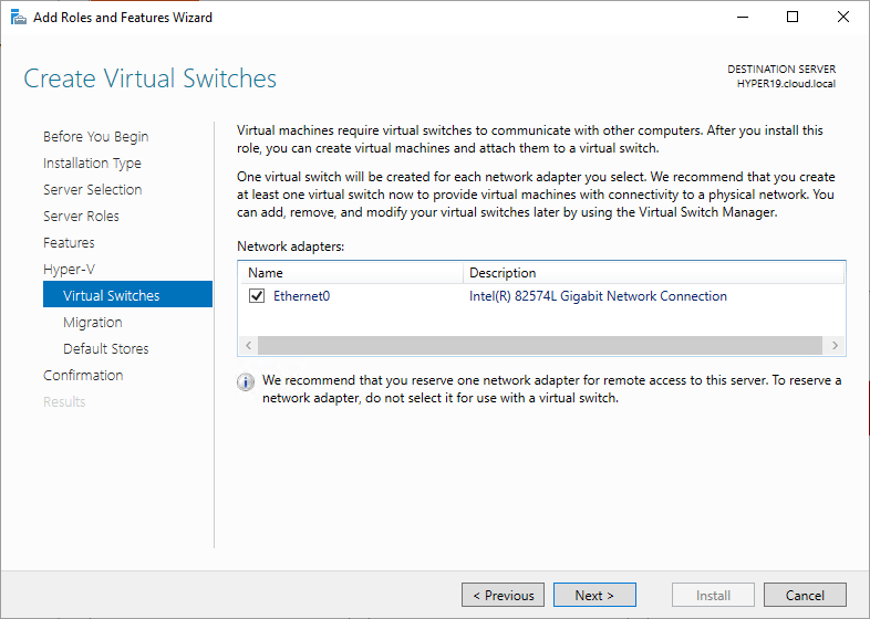 Setting-up-Hyper-V-Virtual-Switches-in-Windows-Server-2019 Windows Server 2019 Preview 17709 with New Hyper-V Released