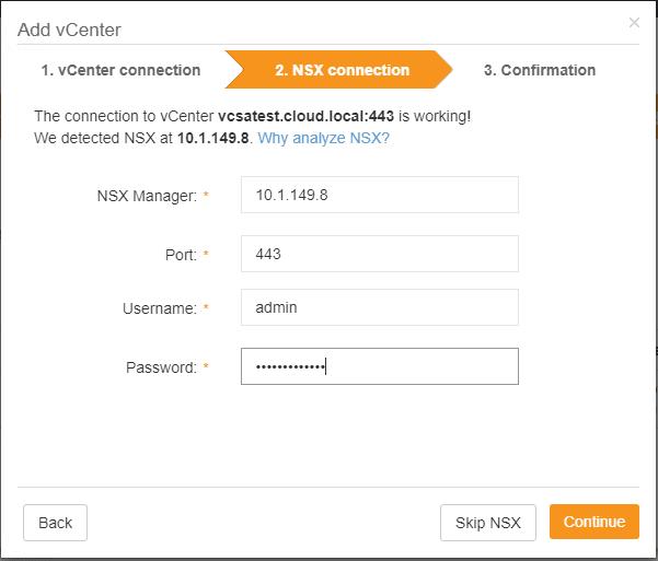 Adding-the-NSX-connection-to-Runecast-Analyzer VMware NSX Best Practices with Runecast Analyzer v1.8