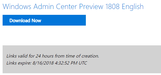 Downloading-Windows-Admin-Center-Preview-1808 Windows Admin Center Preview 1808 Hyper-V Cluster and VM Management New Features