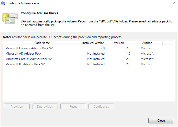 Hyper-V-Advisor-Pack-installed-in-Server-Performance-Advisor Monitoring Hyper-V Performance with Server Performance Advisor