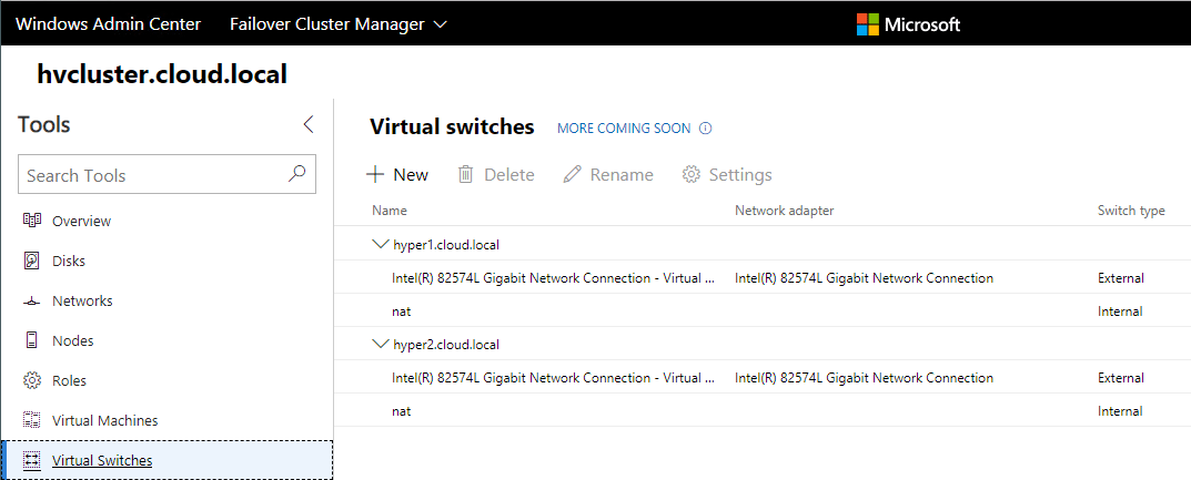 Hyper-V-Cluster-Virtual-Switch-Configuration-with-Windows-Admin-Center-Preview-1808 Windows Admin Center Preview 1808 Hyper-V Cluster and VM Management New Features