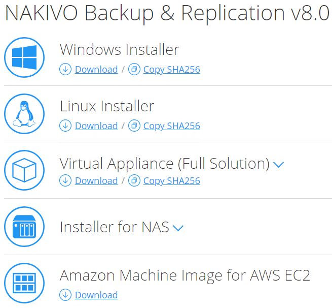 Installing-NAKIVO-Backup-Replication-v8.0 NAKIVO Backup and Replication v8.0 Released with Site Recovery Orchestration DR Testing