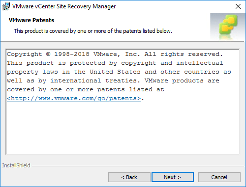 VMware-vCenter-Site-Recovery-Manager-Copyright-information Installing VMware vCenter Site Recovery Manager SRM 8.1
