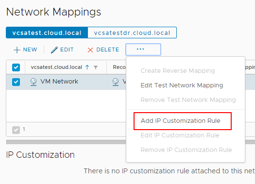 Adding-an-IP-Customization-Rule-in-Site-Recovery-Manager-8.1 Automating DR Recovery Site VM Network and IP Configuration with VMware SRM 8.1