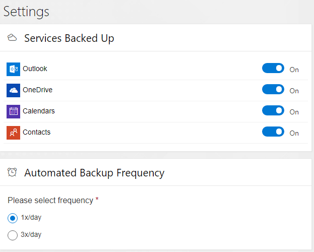 Configuring-services-backed-up-and-automated-backup-frequency-in-Spinbackup-for-Office-365 Choosing the Best Office 365 Backup Solution
