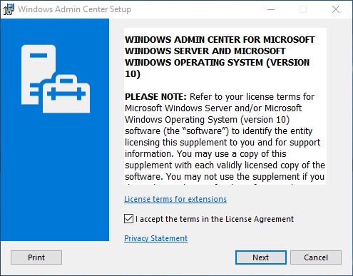 Installing-Windows-Admin-Center-1809-on-Windows-Server-2019 Windows Admin Center 1809 Released with Windows Server 2019 Features