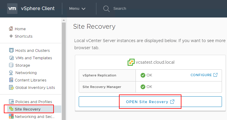 VMware-Site-Recovery-Manager-8.1-Creating-and-Managing-Site-Pairs VMware Site Recovery Manager 8.1 Creating and Managing Site Pairs