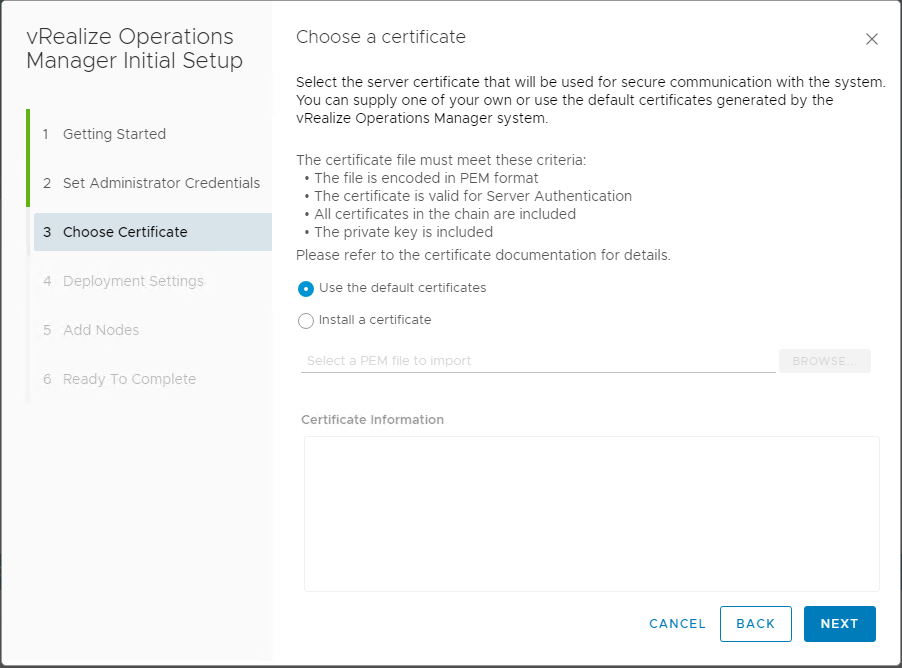 vRealize-Operations-7.0-New-Installation-Certificate-configuration VMware vRealize Operations 7.0 New Features Installation and Configuration