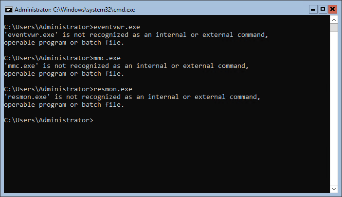 Normal-troubleshooting-tools-are-not-available-by-default-in-Windows-Server-2019-Server-Core
