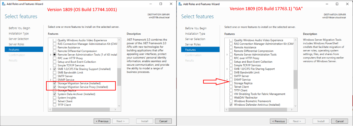 Storage-migration-and-other-Windows-Features-possibly-missing-from-Windows-Server-2019-GA Windows 10 1809 and Windows Server 2019 GA Downloads Pulled
