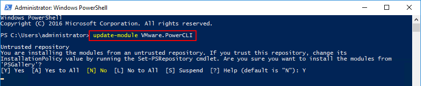 Updating-PowerShell-to-11.0 VMware vSphere PowerCLI 11.0 Released with New Features and Updating