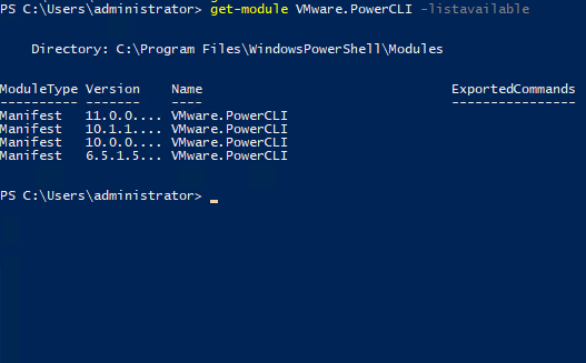 VMware vSphere PowerCLI 11 0 Released with New Features and