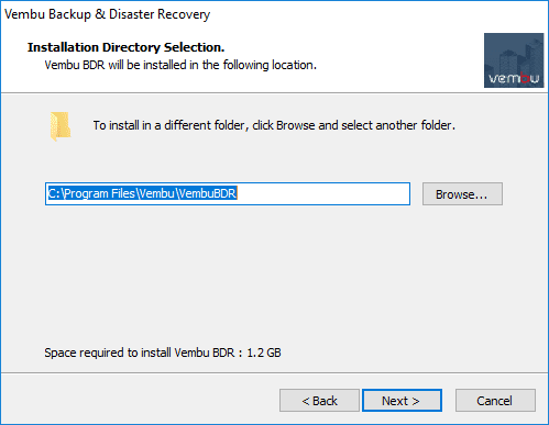 Choosing-the-installation-directory-for-Vembu-BDR-Suite-v4.0 Backup and Protect Hyper-V Clusters with Vembu BDR Suite v4.0