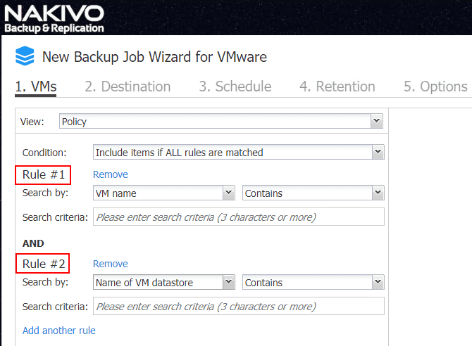 Configuring-multiple-policy-based-data-protection-rules-in-NAKIVO-Backup-Replication-8.1 NAKIVO Backup and Replication v8.1 Beta Released with Policy-Based Data Protection