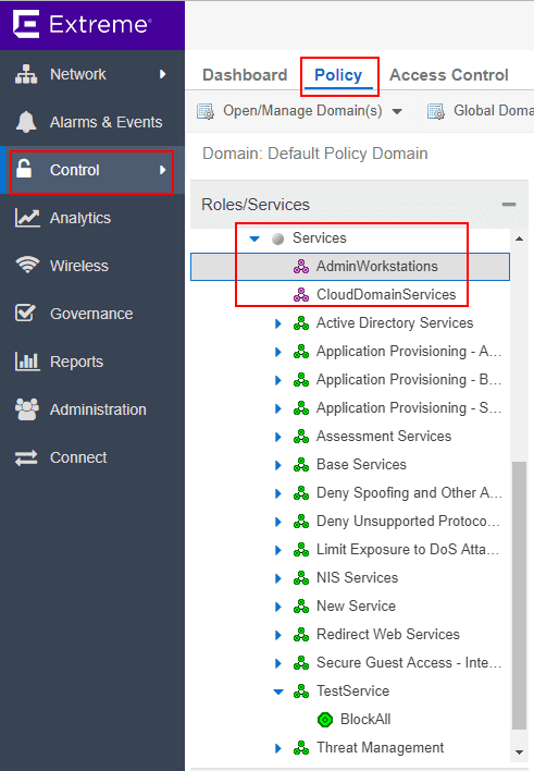 Creating-automated-services-to-contain-network-objects