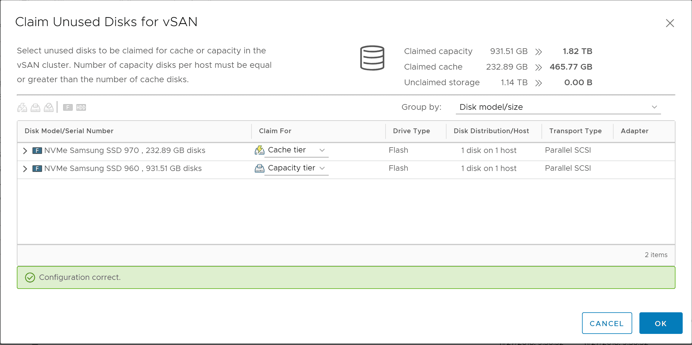 Replacing VMware vSAN Cache Disk and Resyncing vSAN Objects