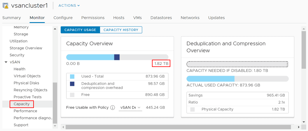The-vSAN-capacity-now-reflects-the-capacity-pre-disk-failure Replacing VMware vSAN Cache Disk and Resyncing vSAN Objects